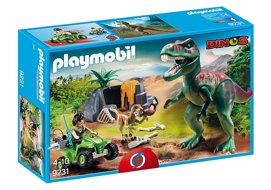 Atak T-Rex'a Playmobil Dino