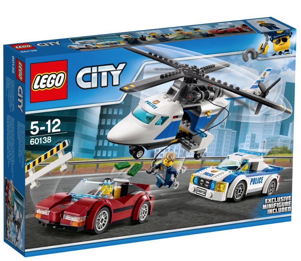 LEGO Szybki Pościg 60138 prawie najtaniej w historii