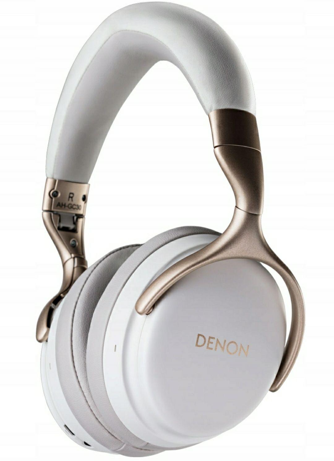 Słuchawki bluetooth Denon AH-GC25W Białe i Czarne Allegro Oficjalny sklep DENON