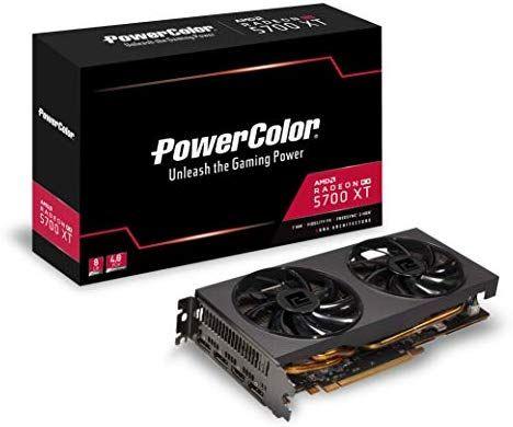 AMD Powercolor RX 5700 XT dual karta graficzna amazon.es