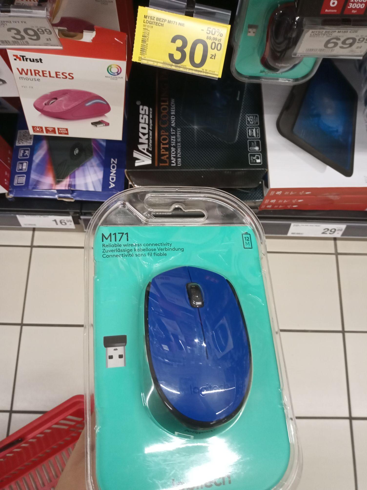 Mysz bezprzewodowa M171 Logitech znowu dostępna w Carrefour