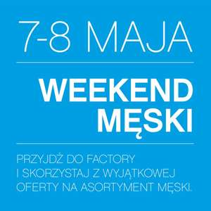 Męski weekend w Factory Outlet Kraków