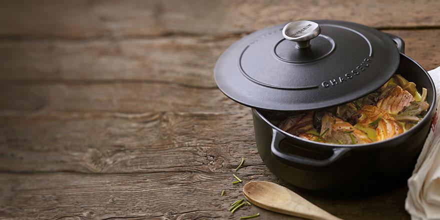 Chasseur - żeliwne garnki,patelnie oraz naczynia -40%