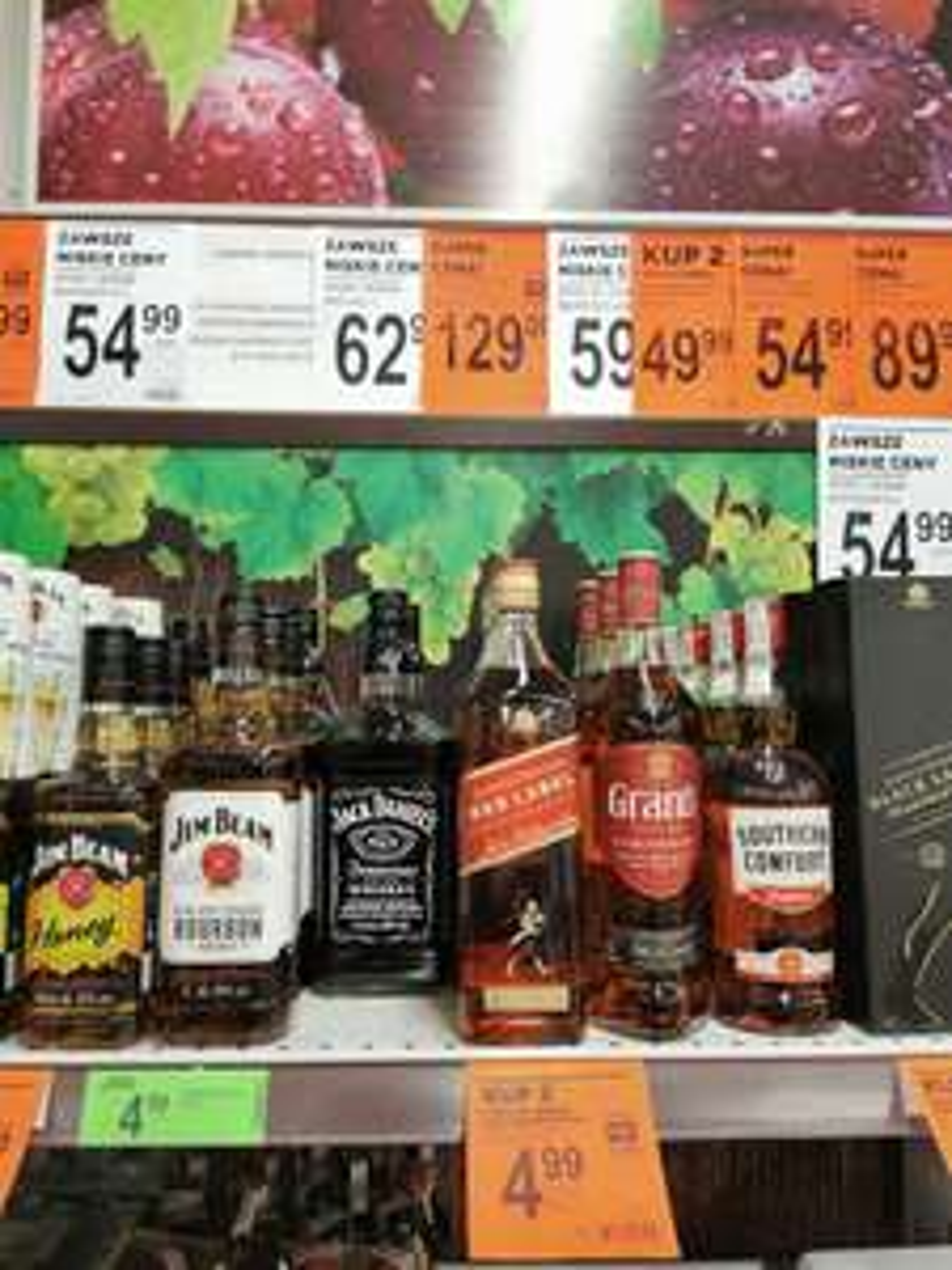 Whiskey Jack Daniels 1,5 Biedronka Środa Wielkopolska