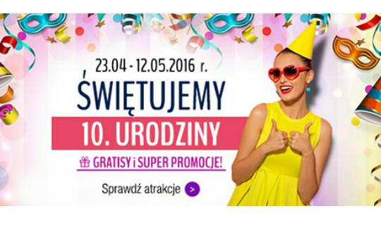 10 000 produktów do 10zl na taniaksiazka.pl na 10 urodziny