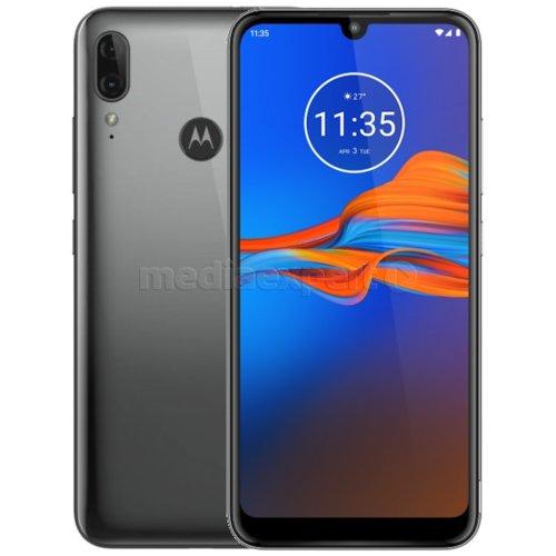 Motorola E6 Plus 4/64 wymienna bateria, pełny Dual SIM. Smartfon z PL (MediaExpert). Kolor grafitowy (+dodatkowo bordowy w salonach)