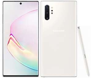 Samsung Galaxy Note 10 Plus Aura White i Aura Glove. Gratis Smart Band i 200 zł na akcesoria.