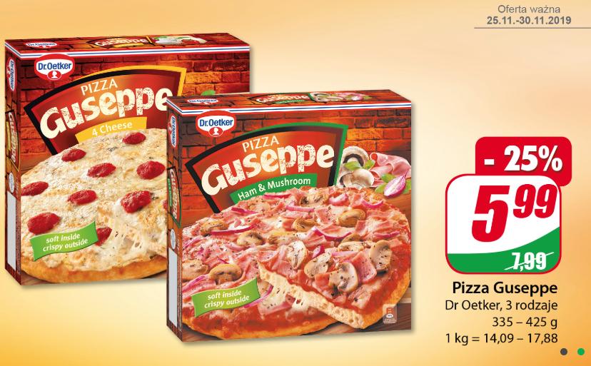 Pizza Guseppe różne rodzaje @Dino