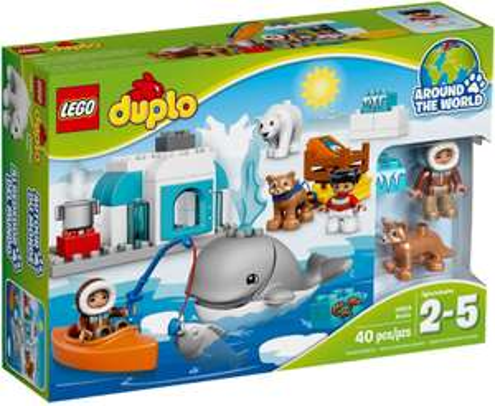 "Lego Duplo 10803 ""Arktyka"" @ Auchan"