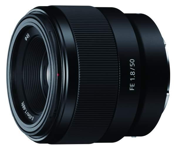 Obiektyw Sony FE 50 mm f/1.8 (SEL50F18F.SYX)