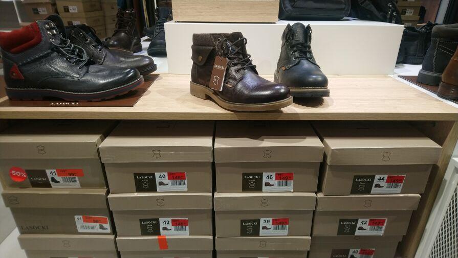 Lasocki męskie zimowe buty od 99zl - CCC