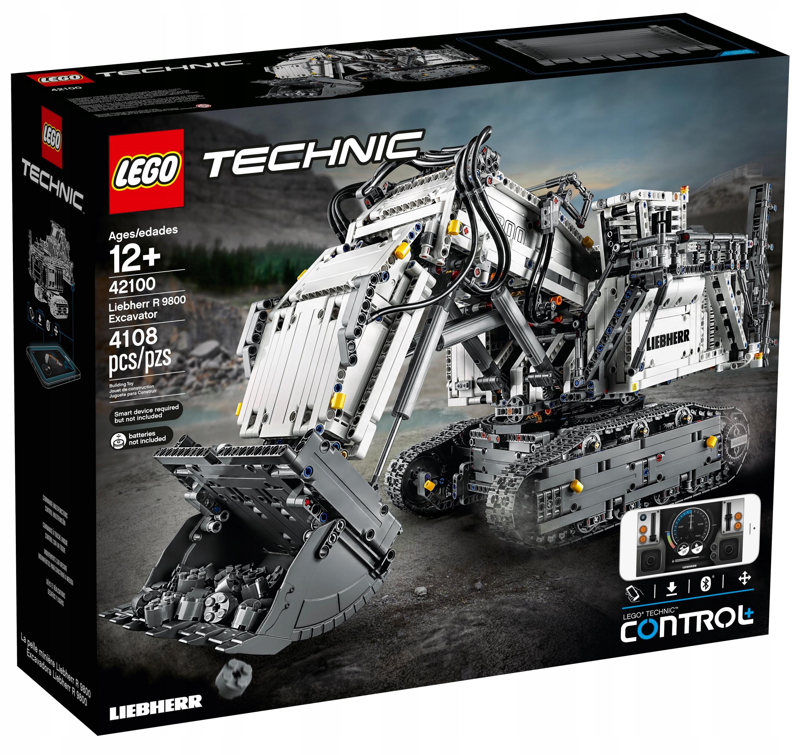 LEGO Technic 42100 - Koparka Liebherr R 9800
