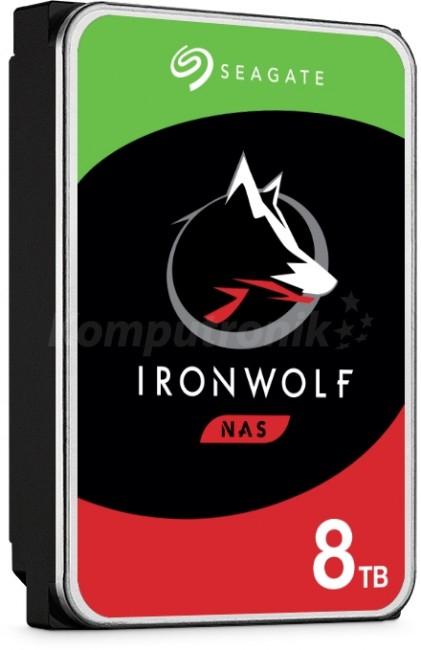 Seagate Iron Wolf 8TB dysk HDD (serwer NAS)