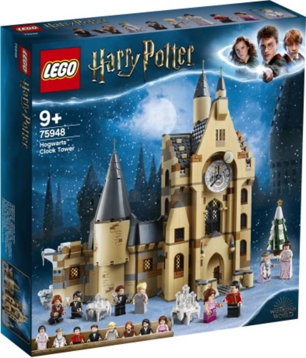 LEGO Harry Potter Wieża zegarowa na Hogwarcie 75948