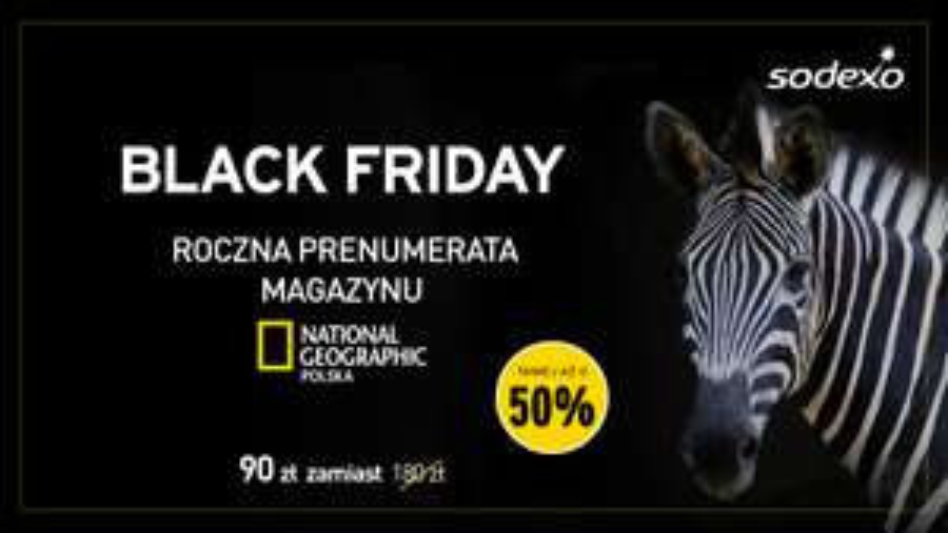 Roczna Prenumerata National Geographic w cenie 90 złotych to aż o 50% taniej od ceny okładkowej