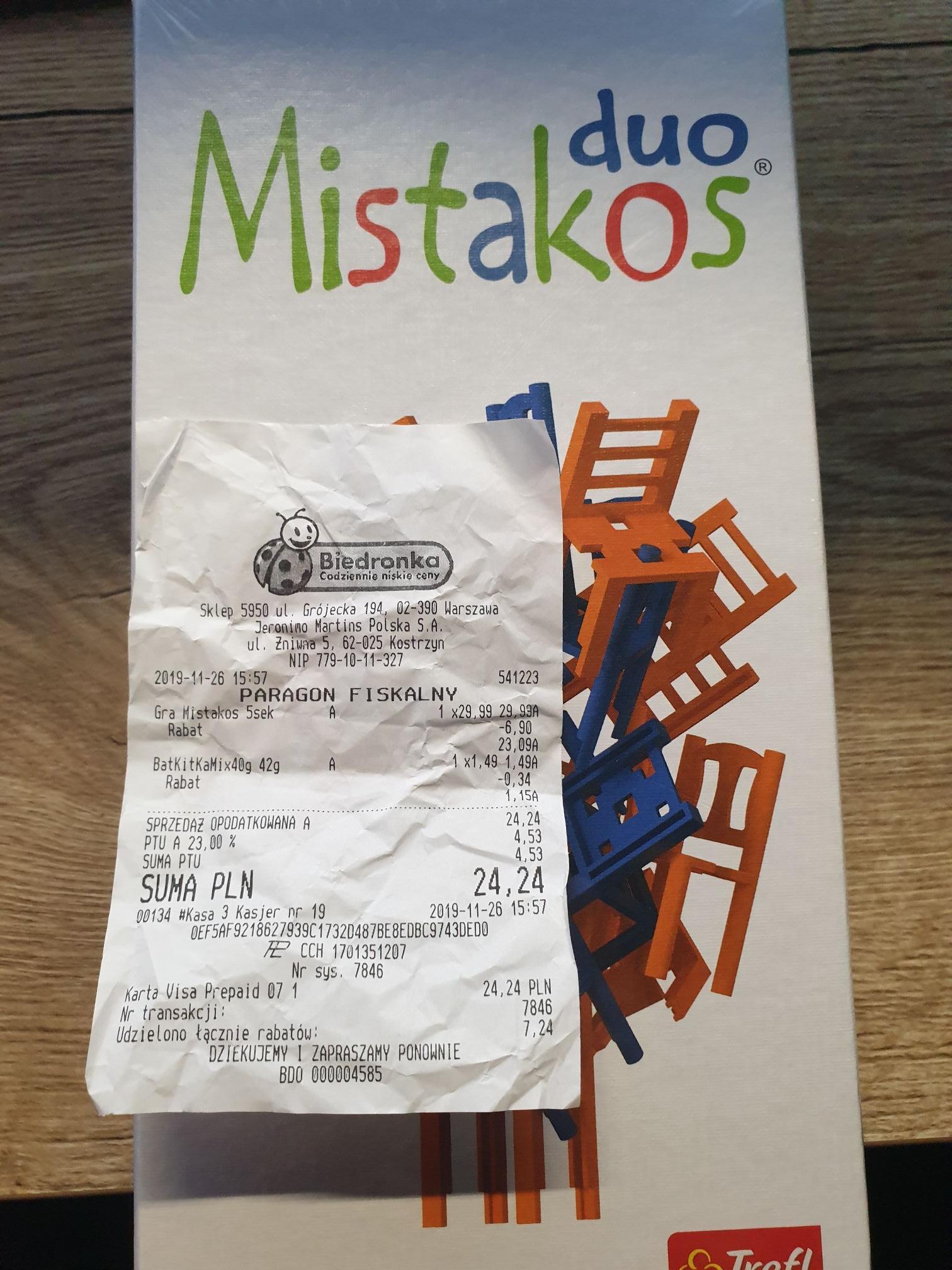 Mistakos - gra