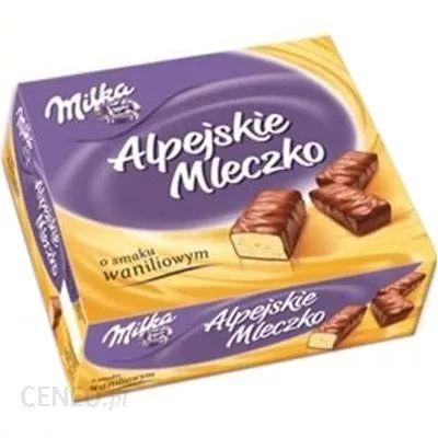 Alpejskie mleczko Milka w Biedronce