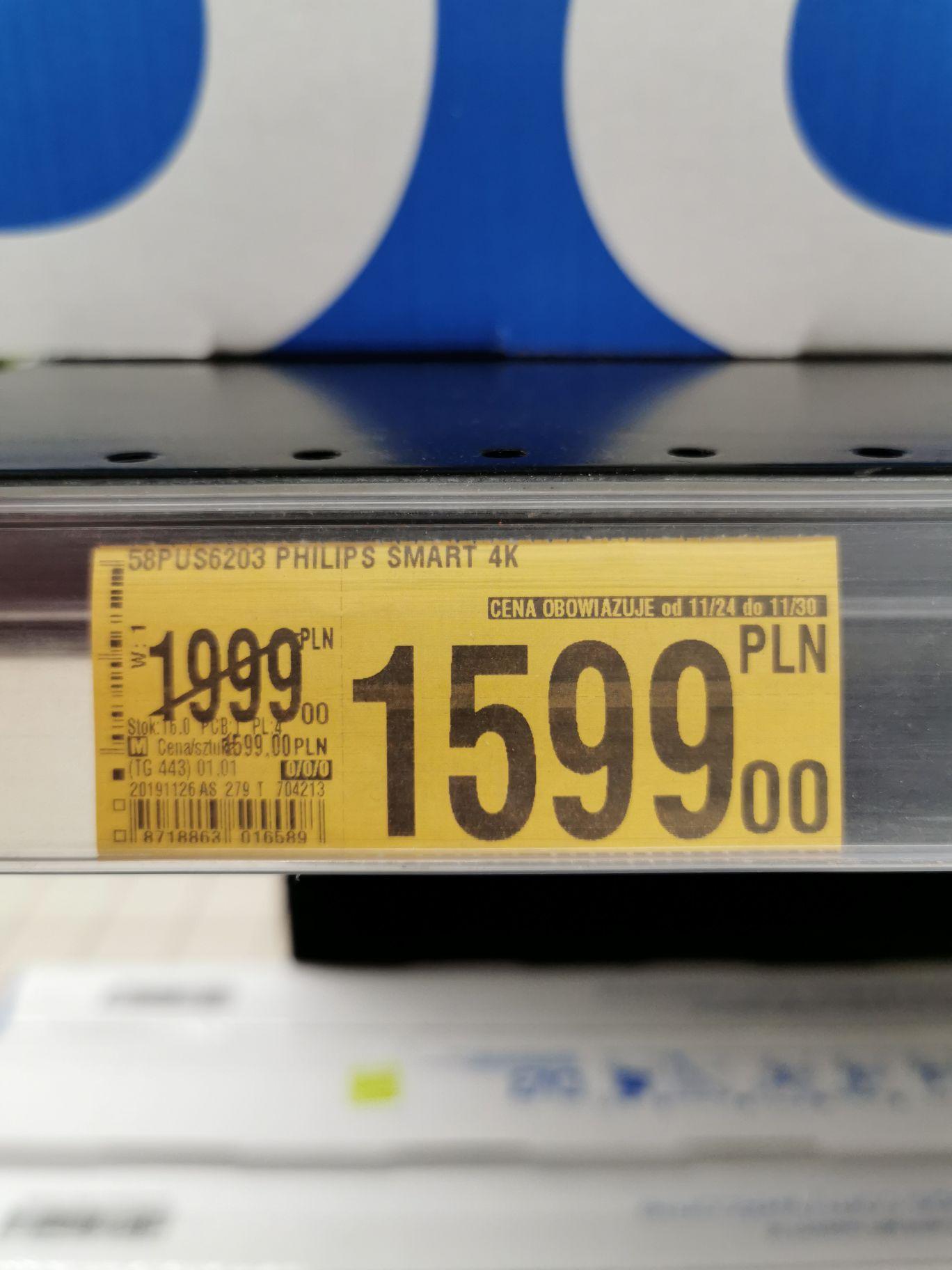 TV Philips 58PUS6203