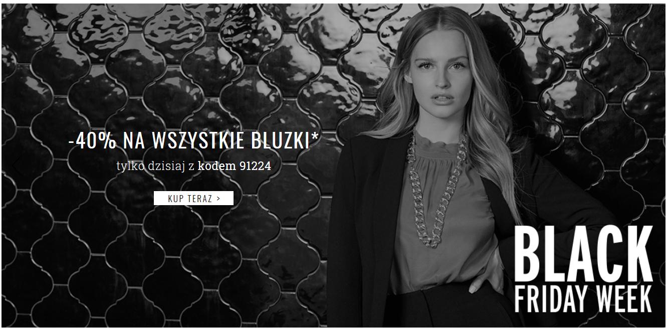 40% zniżki (!) na WSZYSTKIE bluzki Orsay.pl tylko dzisiaj!
