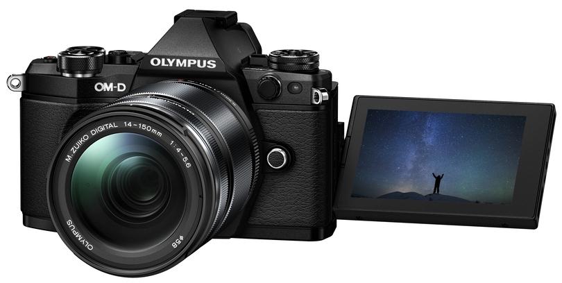 Olympus OM-D E-M5 MARK II (czarny) z ob. 14-150mm f/4.0-5.6 II
