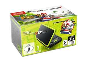Konsola NINTENDO New 2DS XL Black & Lime Mario Kart 7