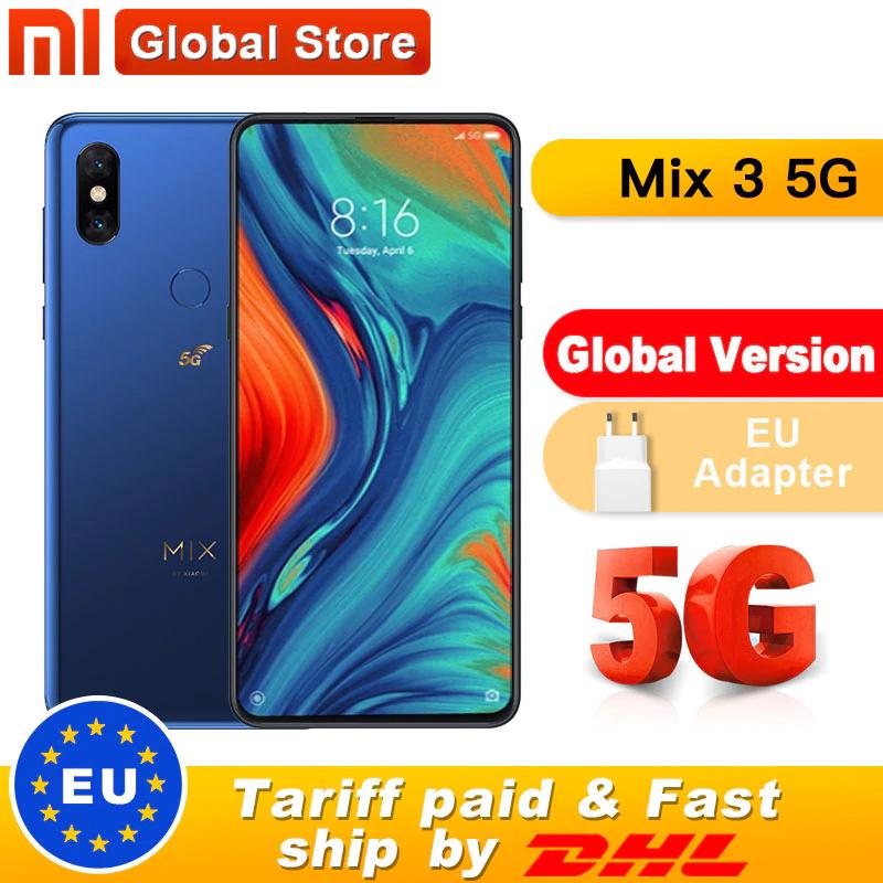 Xiaomi Mi Mix 3 5G 6/64 303.04$ (z przesyłką)