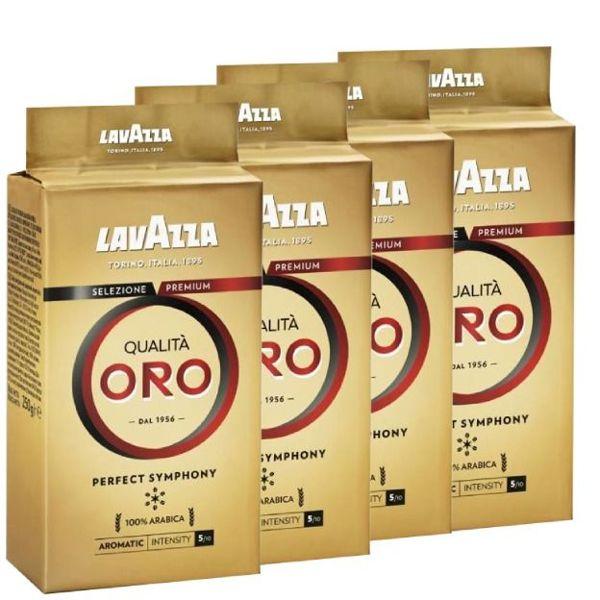 Kawa mielona Lavazza Qualita Oro 500g (4x125g) taniej niż w dużych paczkach
