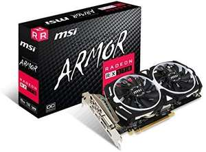 AMD MSI rx 570 8GB Armor karta graficzna amazon.fr