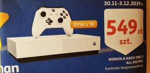 Konsola Xbox One S All Digital Auchan