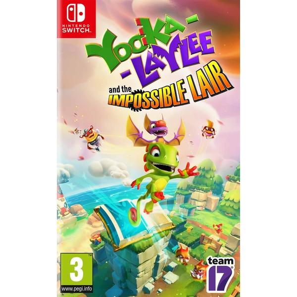 Yooka-Laylee and the Impossible Lair pudełkowa na Nintendo Switch