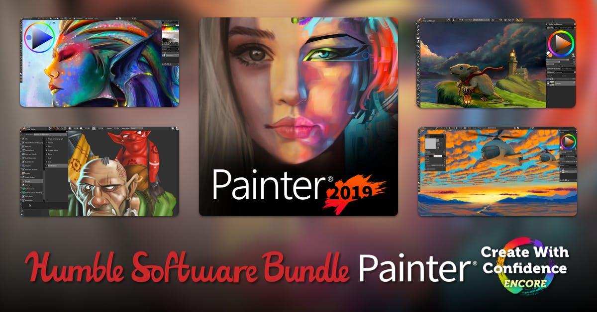 Corel Painter znowu w Humble Bundle