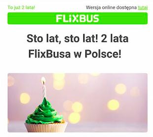 FlixBus, połączenia krajowe - za 4,99zł!