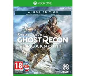 RTVeuroAGD Tom Clancy's Ghost Recon: Breakpoint - Edycja Auroa Xbox One.