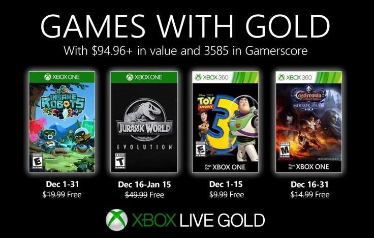 Xbox Games with Gold - grudzień 2019