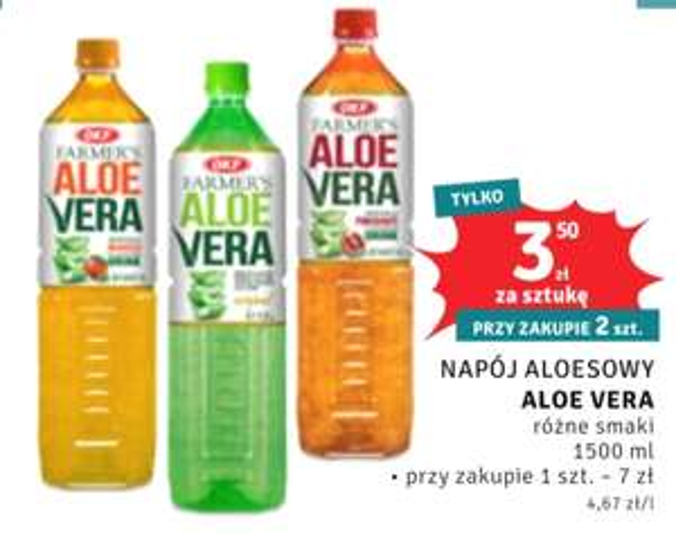 Napój aloesowy Aloe Vera 1,5l Dealz