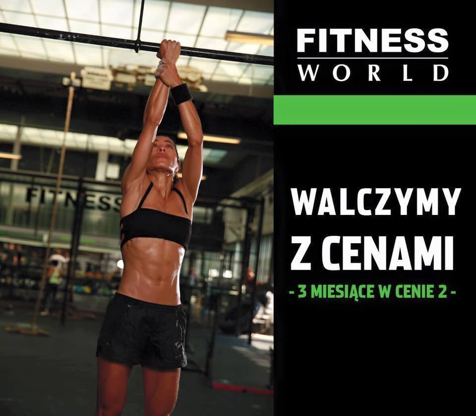 3 miesiące w cenie 2  @Fitness World
