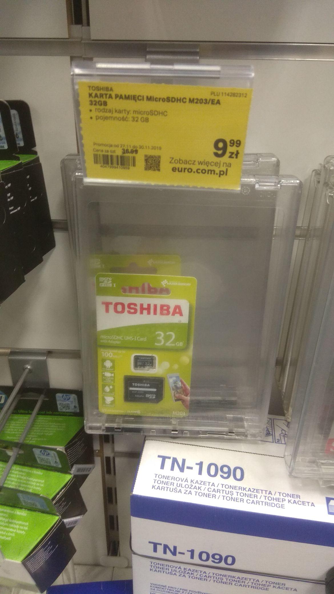 Karta micro sd Toshiba 32gb w RTVeuroAGD Rzeszów Plaza
