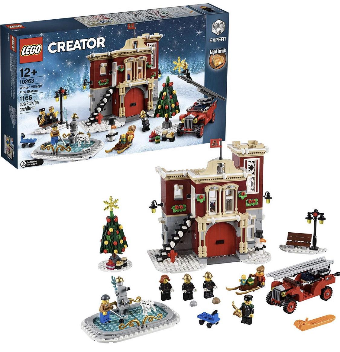 LEGO Creator Expert - Remiza strażacka w zimowej wiosce 10263