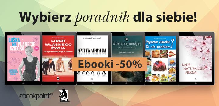 Poradniki wszelakie 50% taniej @ ebookpoint.pl