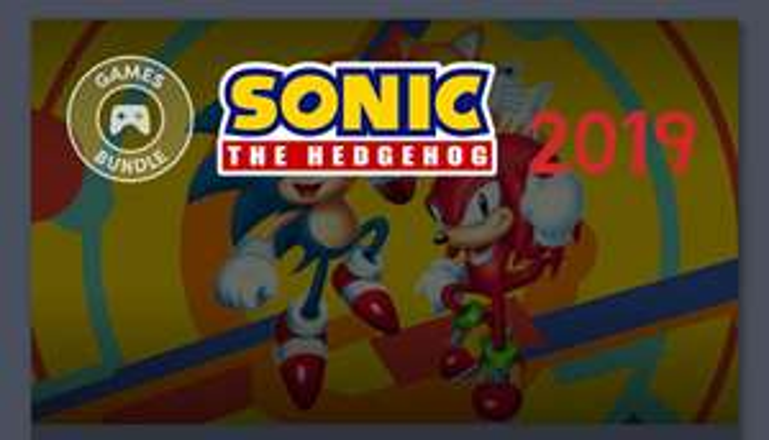 Humble Sonic Bundle - paczka gier od 1$ na PC/Steam
