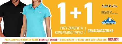 Druga koszulka Regatta lub Dare2Be GRATIS @ TourSport