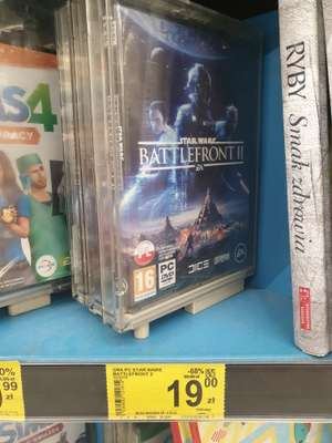 Star Wars Battlefront 2 Box PC Carrefour Gliwice