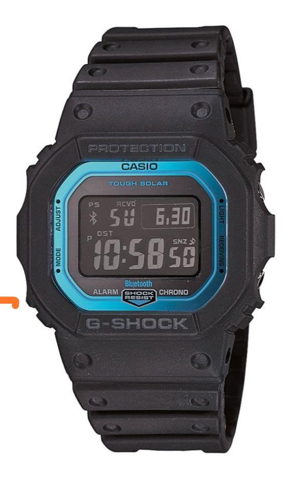 Zegarek Casio G-Shock GW-B5600-2ER Solar Bluetooth
