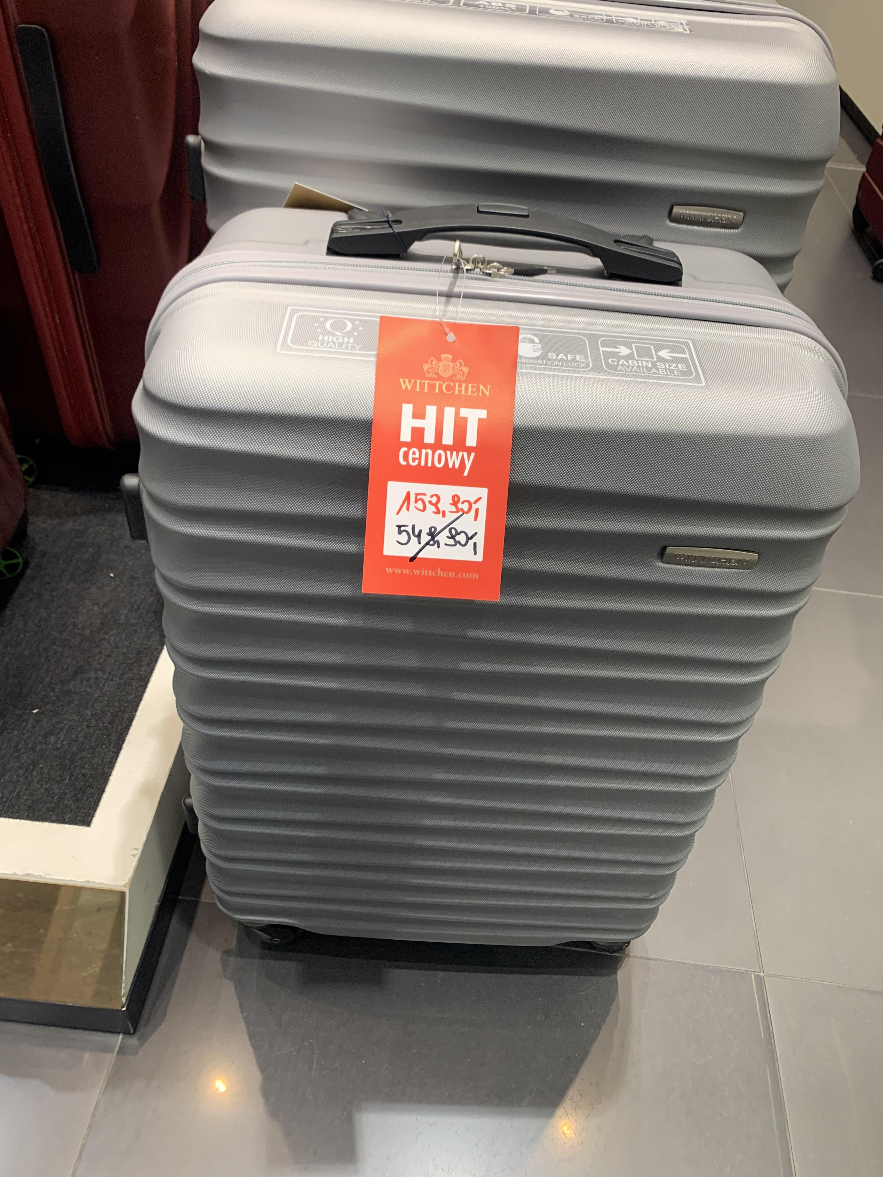 """WITTCHEN - torba podróżna """"cabin size"""" na kółkach."""