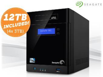 NAS Seagate 12TB Business Storage 4-bay (jest też wersja 16TB) @ ibood