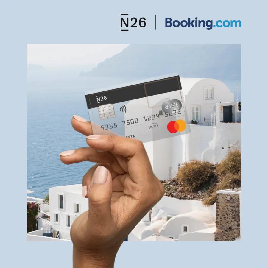 Do 10% cashback na wszystkie noclegi z kartą N26 i co najmniej 40% zniżki w Booking na wybrane hotele @BlackFriday @booking.com @n26