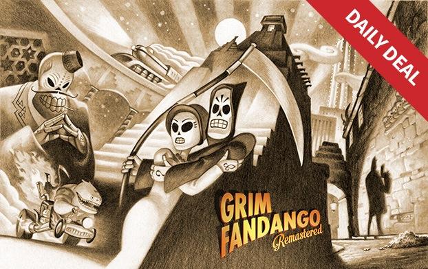 Grim Fandango: Remastered za ok. 9zł @ Humble Store