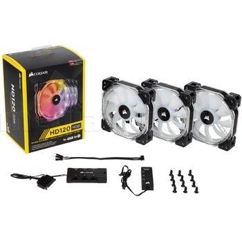 Wentylatory CORSAIR 3 X HD120 RGB LED