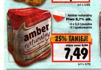 Amber naturalny 4pak w Kauflandzie