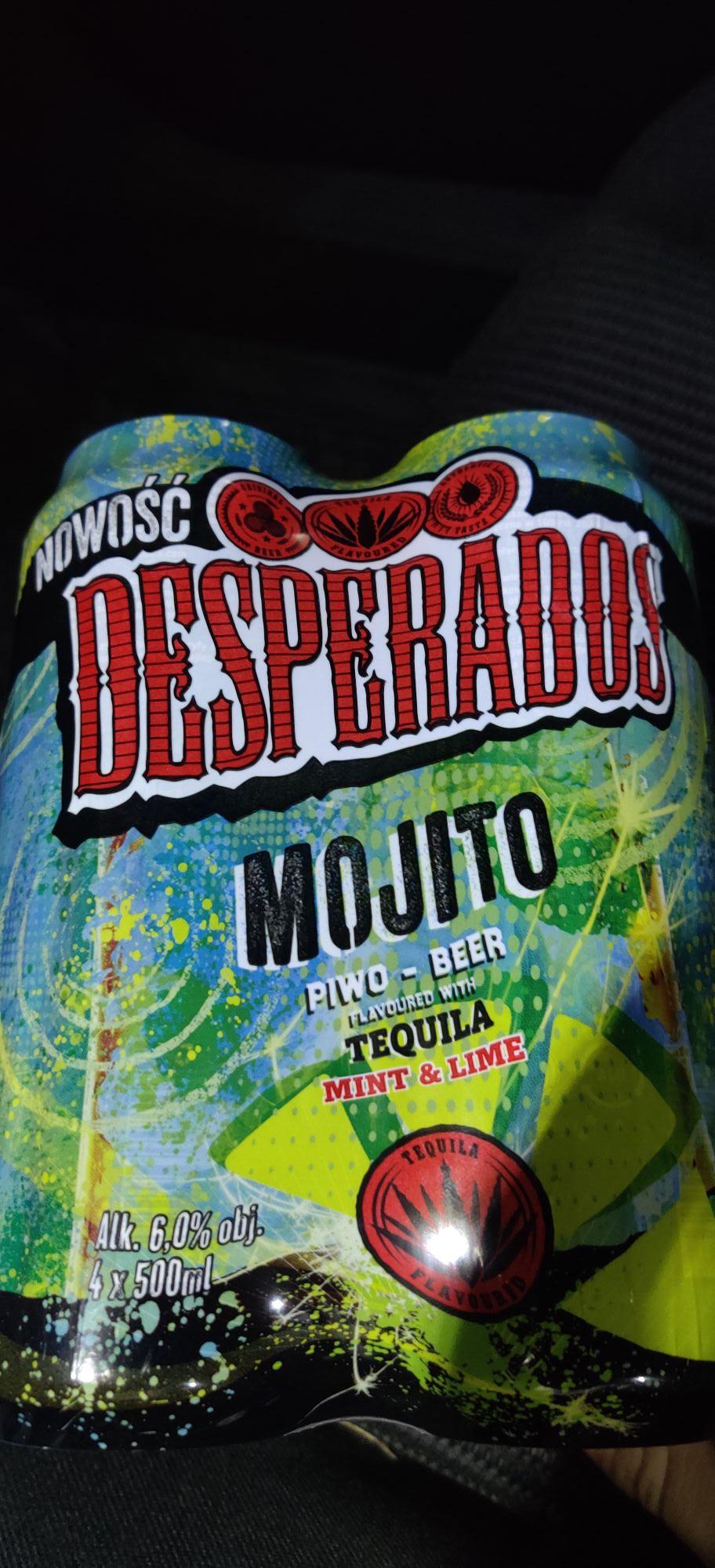 Desperados mojito puszka 0.5 Biedronka Tuszyma (możliwe że ogólnopolska)